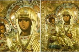 Η μοναδική εικόνα της Παναγίας με τα τρία χέρια