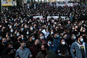 Πανεκπαιδευτικό συλλαλητήριο: Στους δρόμους οι φοιτητές - Κλειστή η Πανεπιστημίου