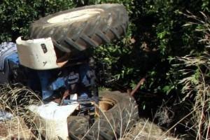 """Τραγωδία στο Αγρίνιο: Ηλικιωμένος """"έχασε"""" τη ζωή του όταν έπεσε από το τρακτέρ"""