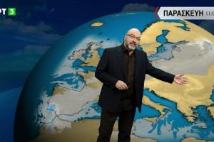Σάκης Αρναούτογλου: «Ο Μάρτιος θα μπει με ανοιξιάτικα σκαμπανεβάσματα - Το Σαββατοκύριακο ο καιρός...» (Video)