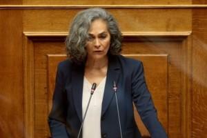 Σοκαριστική καταγγελία: Προπηλακισμός της αντιπροέδρου της Βουλής Σοφίας Σακοράφα από την Αστυνομία!