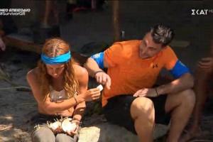 Survivor spoiler: Αδίστακτη η Μαριαλένα - Χρησιμοποιεί τη σχέση με τον Σάκη… για να τον φέρει στην κλίκα