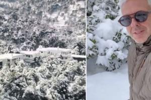 """Τα """"κάτασπρα"""" Βόρεια Προάστια από ψηλά: Ένα μοναδικό βίντεο από τον Τάσο Δούση!"""