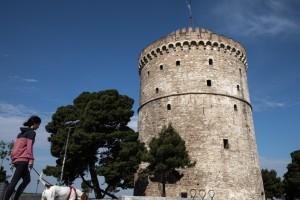 Η φωτογραφία της ημέρας: Βόλτα στον λευκό Πύργο!