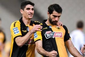 Super League: «Ξεμπούκωσε» με Απόλλωνα η ΑΕΚ