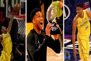 All Star Game: Νικητής και MVP ο Γιάννης Αντετοκούνμπο! (Video)