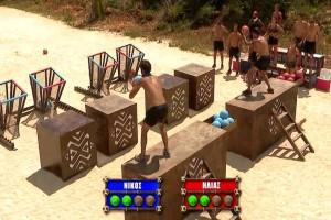 Survivor: Οι μπλε διέσυραν τους κόκκινους και πήραν το τεράστιο έπαθλο!