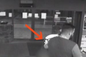 Πήγε στην κλινική να γεννήσει αλλά δεν πρόλαβε να φτάσει ούτε μέχρι την είσοδο - Δείτε τι κατέγραψε η κάμερα ασφαλείας!