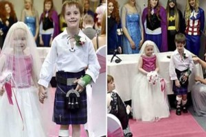 5χρονη σε τελικό στάδιο καρκίνου παντρεύεται τον καλύτερό της φίλο