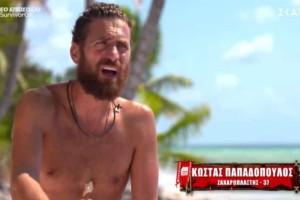 Survivor: Έξαλλος με την Καρολίνα ο Κώστας - «Με βουλώνεις, δεν με αφήνεις να μιλήσω»