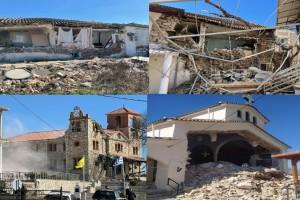 Σεισμός στην Ελασσόνα: Σε κατάσταση έκτακτης ανάγκης οι δήμοι Τυρνάβου και Φαρκαδόνας και η Δ.Ε Ποταμιάς (Video)