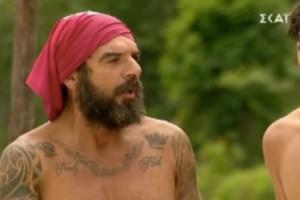 Survivor 4: «Πυρά» Τριαντάφυλλου σε Τζέιμς - «Είσαι ρουφιάνος, πού πήγε ο θείος σου;»