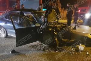 Νεκρός αστυνομικός σε τροχαίο στην Πατρών-Πύργου