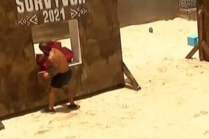 """Survivor 4: Ο Τριαντάφυλλος """"έκλεψε"""" στο χθεσινό αγώνισμα και δεν το κατάλαβε κανείς!"""