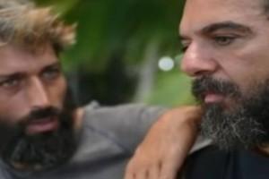 "Survivor spoiler: Πλύση εγκεφάλου! Ο ""αδελφός"" Αλέξης έπεισε τον Ντάφυ να ""παραιτηθεί"" για να παραμείνει ο ίδιος στο παιχνίδι!"