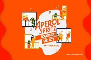 Το δεύτερο event Aperol Spritz Together We Joy At The Balcony, έρχεται σε λίγες μέρες.