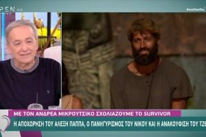 Survivor 4: «Καταπέλτης» για Αλέξη ο Μικρούτσικος - «Έδιωξαν τα τοξικά λύματα»