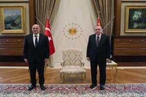 Ελληνοτουρκικά: Ολοκληρώθηκε η συνάντηση Δένδια-Ερντογάν - Τι συζήτησαν (Video)