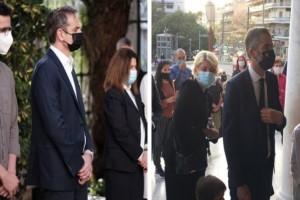 Κυριάκος Μητσοτάκης: Στο παρεκκλήσι του «Ιπποκρατείου» για τη Ακολουθία του Επιταφίου (Video)