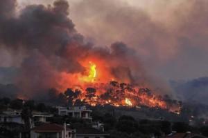 Φωτιά στην Άνοιξη Αττικής