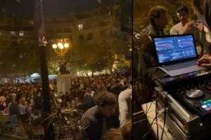 Κορωνοπάρτι στην Κυψέλη με Dj: Συγκεντρώθηκαν πάνω από 500 άτομα! (Video)