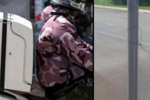 Φρίκη: Ντελιβεράς έπεσε σε παγίδα με τεντωμένη πετονιά σε δρόμο