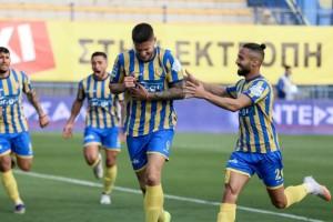 """Παναιτωλικός - Απόλλων Σμύρνης (1-0): Νίκη ελπίδας για τα """"καναρίνια"""" (Video)"""
