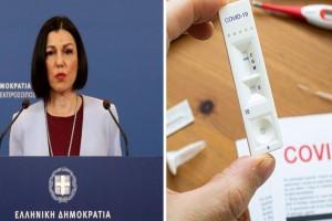 """Πελώνη: """"Σύμμαχοί μας τα εμβόλια, τα τεστ και ο καιρός. Εχθρός η χαλάρωση - Νωρίτερα στην Ελλάδα 1,2 εκατ. εμβόλια"""""""