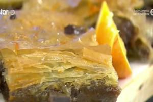 Σοκολατένιο γαλακτομπούρεκο με κουβερτούρα (Video)