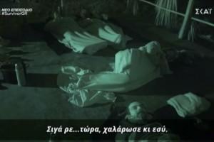 Survivor 4: Επίθεση Αλέξη σε Μπάρτζη - «Σταμάτα ρε μ@λ@κ@ να κοιμηθούμε»
