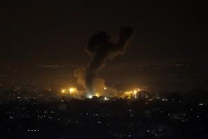 Σκηνές πολέμου σε Ισραήλ και Λωρίδα της Γάζας
