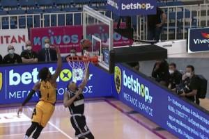 """Basket League: """"Σφαγή"""" στο ΟΑΚΑ, πέρασε η ΑΕΚ!"""