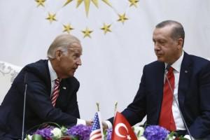 Το... χοντραίνει με Μπάιντεν ο Ερντογάν: «Έβαψες τα χέρια σου με αίμα»