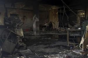 Φωτιά σε νοσοκομείο Covid-19 -  Νεκροί 16 ασθενείς και 2 νοσοκόμες
