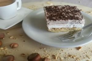 Γλυκό ψυγείου με σοκολάτα και εσπρέσο