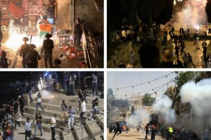 Ισραήλ-Παλαιστίνιοι: Νέες συγκρούσεις στην Ιερουσαλήμ - Εκατοντάδες τραυματίες (Video)
