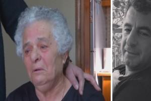 Γιώργος Καραϊβάζ: «Ραγίζει» καρδιές η μητέρα του - «Κάθε μέρα του κάνω παρέα στον τάφο του - Εκείνος νομίζω με βλέπει» (Video)