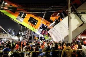 Τραγωδία στο Μεξικό: Κατέρρευσε γέφυρα του Μετρό & έπεσε πάνω σε αυτοκίνητα - Τουλάχιστον  13 νεκροί (photo-video)