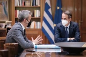 """Κυριάκος Μητσοτάκης: """"Τα μέτρα θα παραμείνουν μέχρι να χτίσουμε οριστικό εθνικό τείχος ανοσίας"""""""