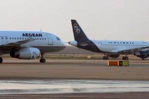 Ακυρώσεις και τροποποιήσεις πτήσεων της AEGEAN και Olympic Air