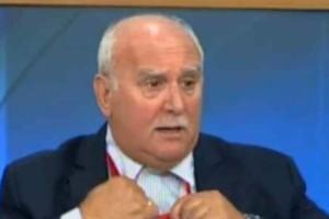 Έξαλλος ο Γιώργος Παπαδάκης - Ούρλιαζε μπροστά σε όλη την Ελλάδα