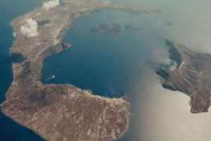 Δείτε πώς δημιουργήθηκε η Σαντορίνη από 4 ηφαίστεια σε ένα βίντεο 6 λεπτών
