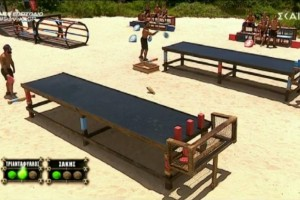 Survivor 4: Ξεφτίλισε το fair play ο Τριαντάφυλλος - Σταμάτησε να παίζει και περίμενε τον Σάκη... να τον νικήσει