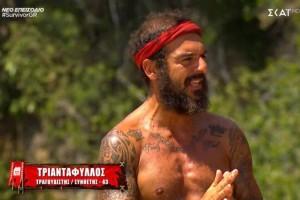 Survivor 4: «Βγάλτε από τώρα νικητή τον Τριαντάφυλλο στην φαρσοκωμωδία σας»