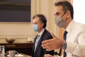 """Έκτακτο μήνυμα Μητσοτάκη - Τσιόδρα: """"Δεν έχουμε ξεμπερδεύσει με την πανδημία - Φόβος για τις μεταλλάξεις"""""""