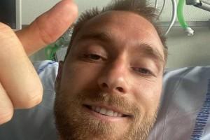 Ο Κρίστιαν Έρικσεν είναι εδώ - Η selfie μέσα από το νοσοκομείο: «Είμαι καλά δεδομένων των συνθηκών»