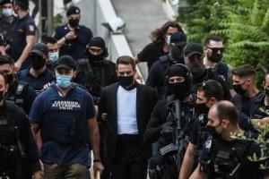 Έγκλημα στα Γλυκά Νερά: Αυτά είπε στους δημοσιογράφους πριν πάει στον Κορυδαλλό ο Μπάμπης Αναγνωστόπουλος - Εξοργισμένη η οικογένεια της Καρολάιν