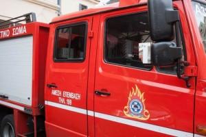 Συναγερμός στην Πυροσβεστική - Φωτιά στο Λαύριο