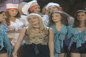 Η Ζέτα Μακρυπούλια στο πλάι της Κορομηλά σε ηλικία 16 ετών - Στο μακρινό 1993! (Video)