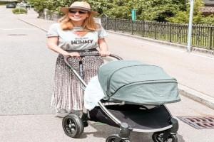 """Μαρία Ηλιάκη: Τα κιλά που έχασε μετά τη γέννα - Οι γλυκές """"γκρίνιες"""" της μπέμπας και το όνομα που θα της δώσει"""